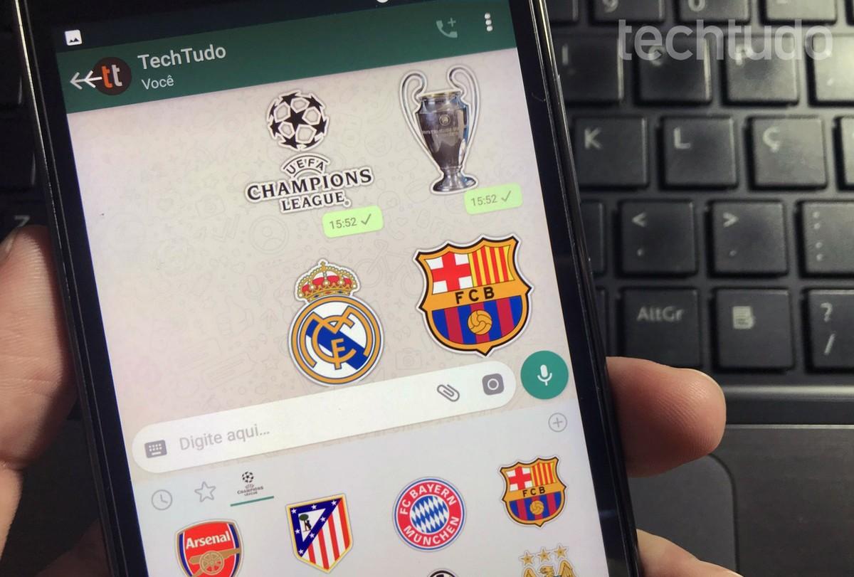 Kuidas paigaldada ja kasutada jalgpallimeeskonna kleebiseid saidil WhatsApp | Sotsiaalvõrgustik