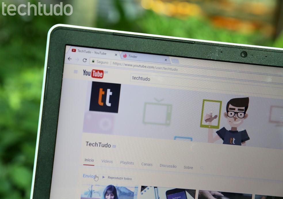 Siit saate teada, kuidas YouTube'i foto e-posti aadress välja lülitada: Carolina Ochsendorf / TechTudo
