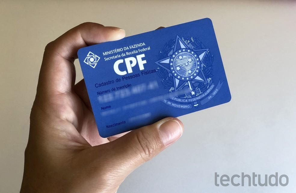 Sellised andmed nagu CPF ja ProAC registreerijate identiteedid on Internetis saadaval: Foto: Nicolly Vimercate / TechTudo