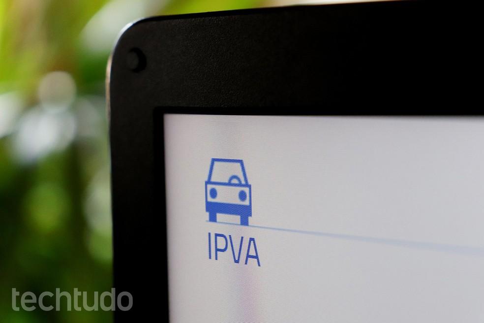 IPVA 2020: vaadake, kuidas maksekviitungeid välja anda ja maksta Foto: Ana Letcia Loubak / TechTudo