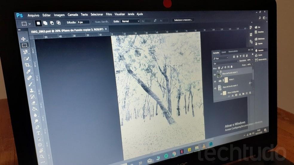 Õpetus õpetab, kuidas muuta fotosid piltideks Photoshopiga Foto: Joo Pedro Voltarelli / TechTudo