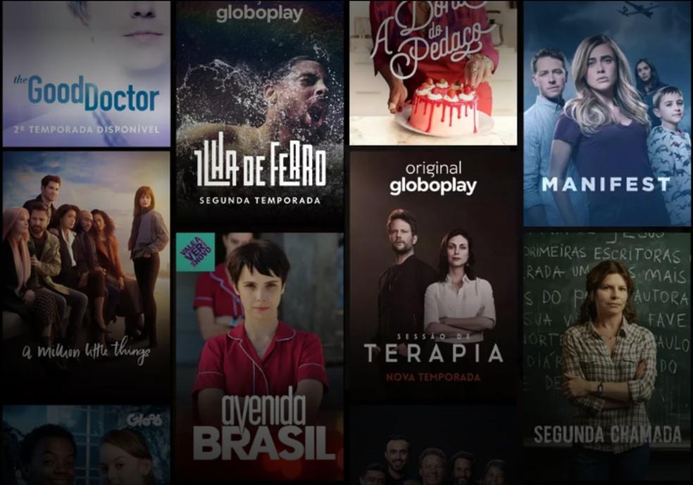 Globoplayl on kataloog koos Globo teleprogrammi ja rahvusvahelise sarjaga Foto: Reproduo / Globoplay