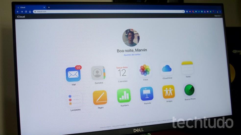 Vaadake näpunäiteid iCloudi salvestusruumi vabastamiseks. Foto: Marvin Costa / TechTudo
