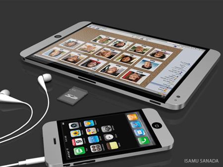 Tablet Apple, oleh Isamu Sanada