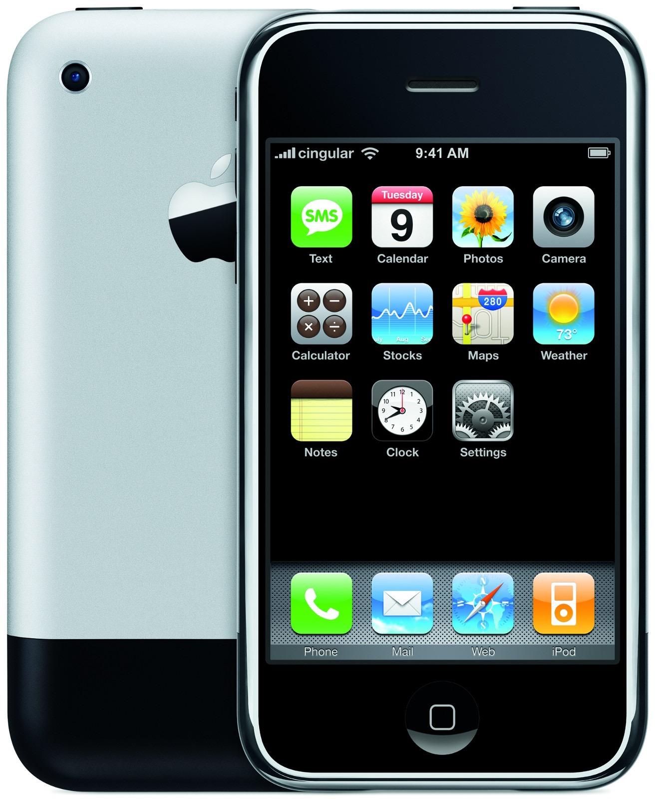 Gambar promosi iPhone asli