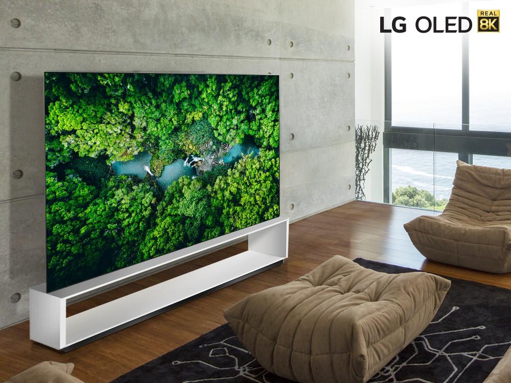 LG teatas CES 2020-l kaheksast 8K eraldusvõimega OLED- ja LED-telerist