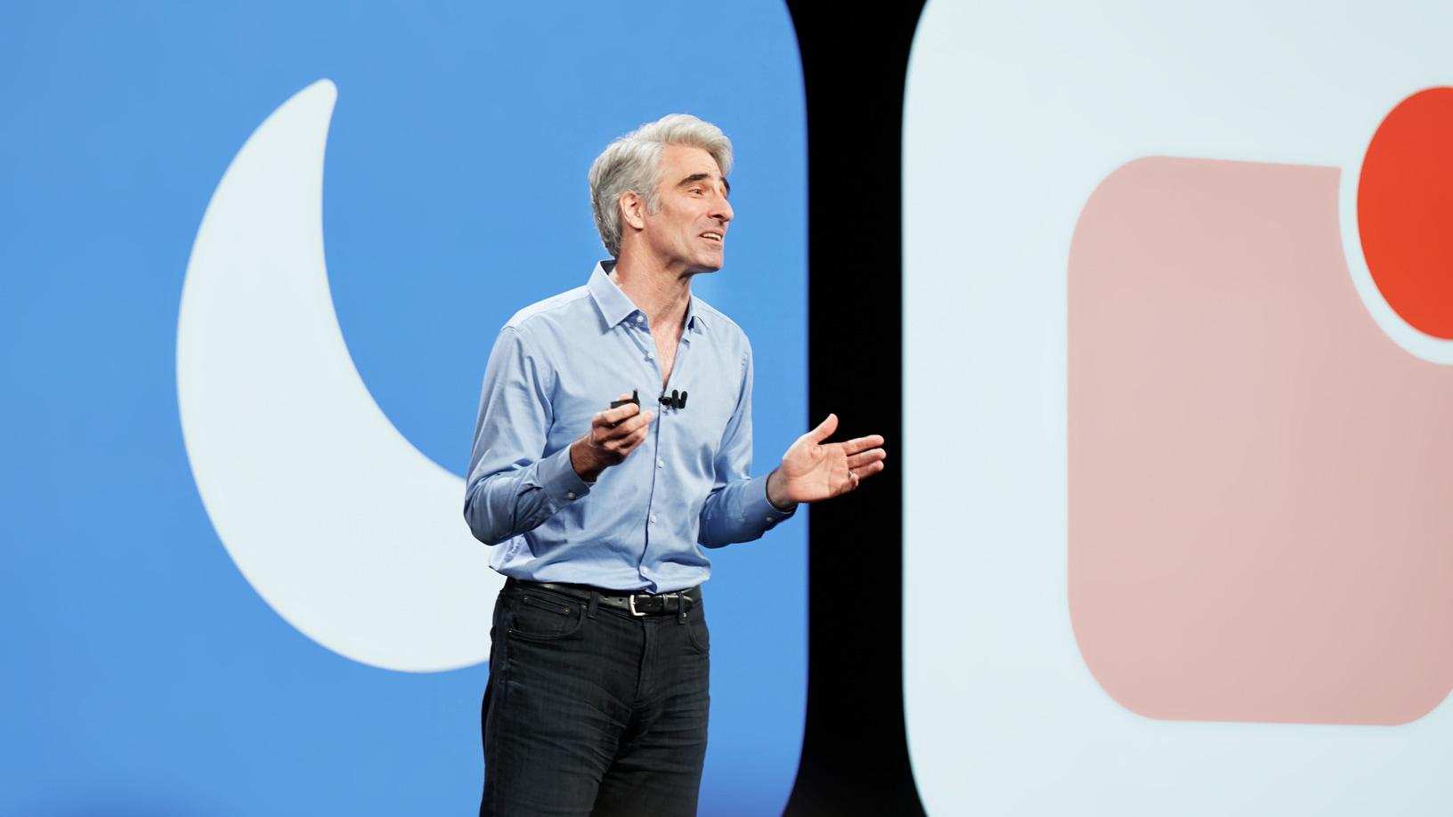 Craig Federighi tutvustab iOS 12