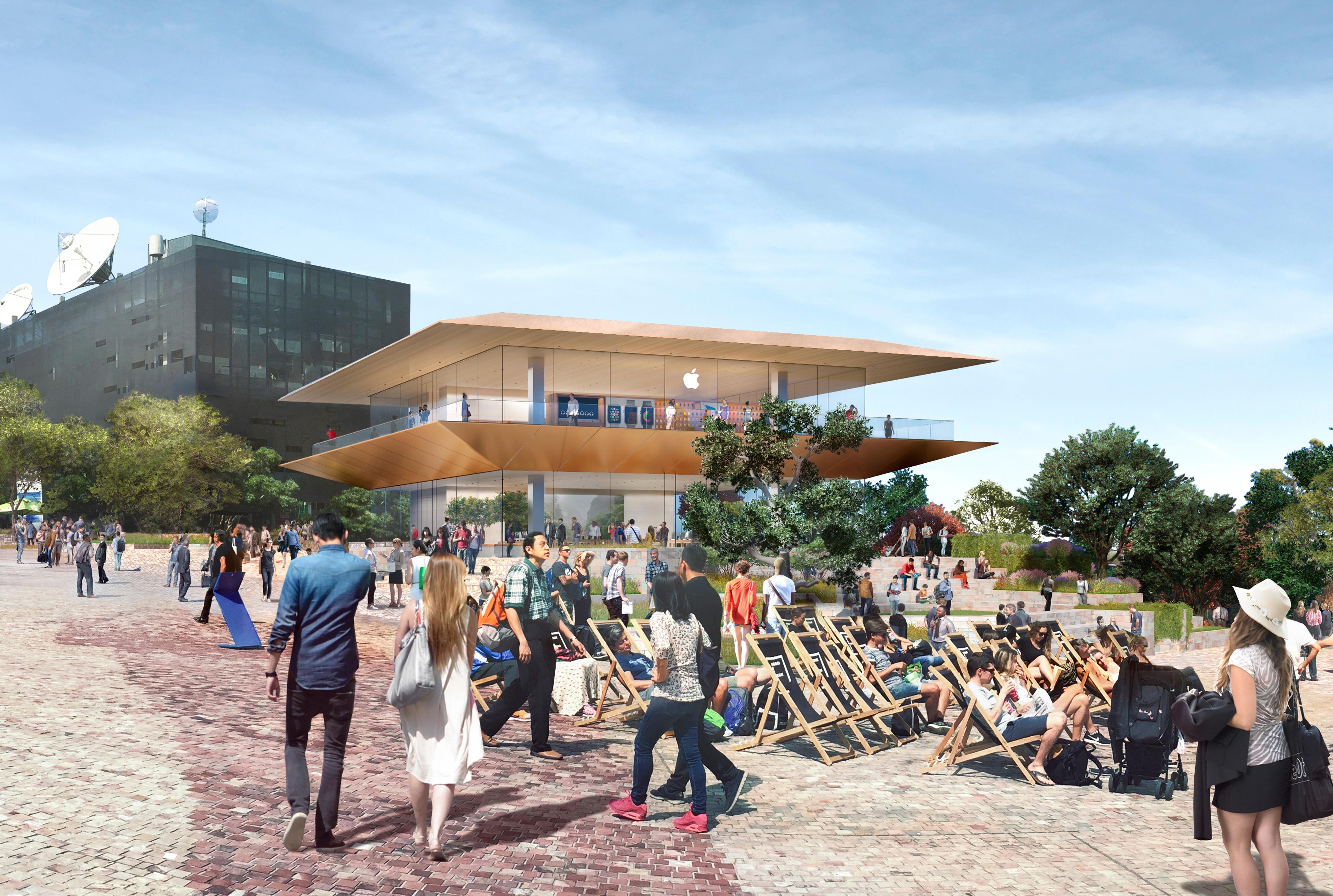 Andke võimalus saada Melbourne'is Föderatsiooni väljaku Apple Store'iks