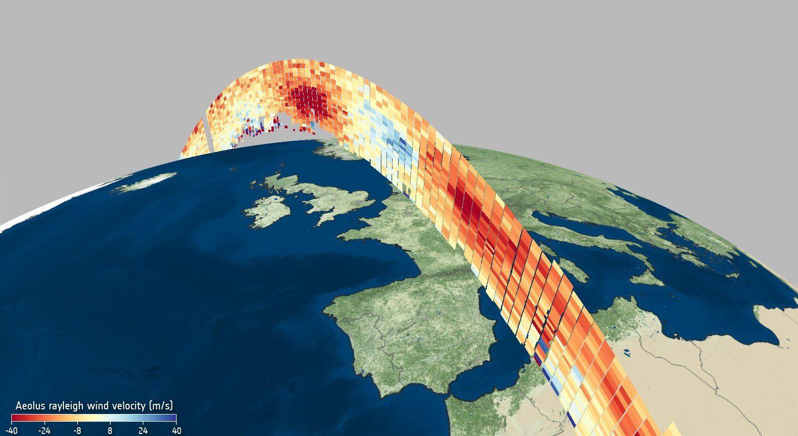 Meteoroloogiakeskused ja teadlased saavad nüüd juurdepääsu Aeolus ESA satelliidi kogutud andmetele