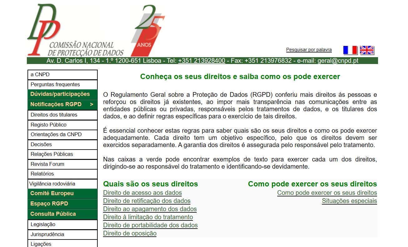 Andmekaitsejuhend - CNPD