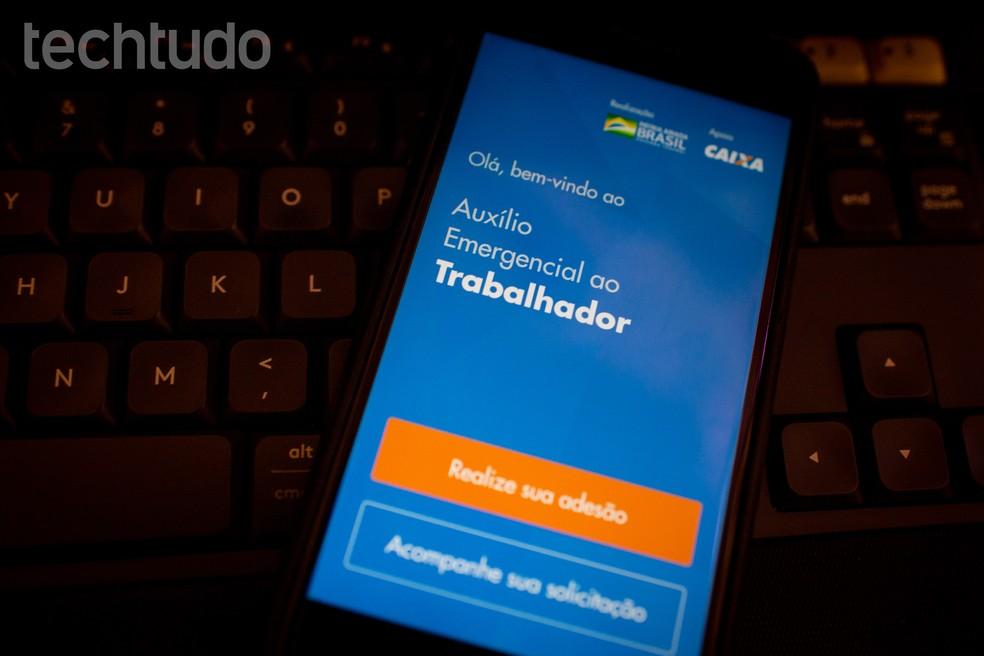 Lisaks rakendusele on võimalik registreeruda ka erakorralise abi saamiseks arvuti kaudu. Foto: Rubens Achilles / TechTudo