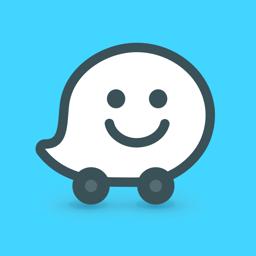Waze'i rakenduse ikoon - GPS ja otsene liiklus