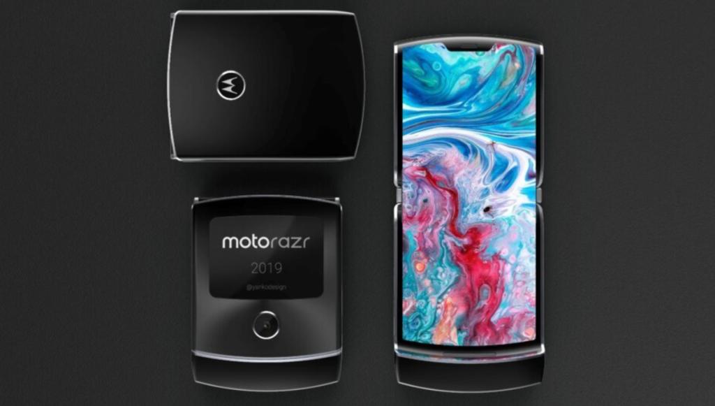 Motorola RAZR 2019 on väga kompaktse suurusega, ideaalne väikeste kottide jaoks (Foto: Divulgao)