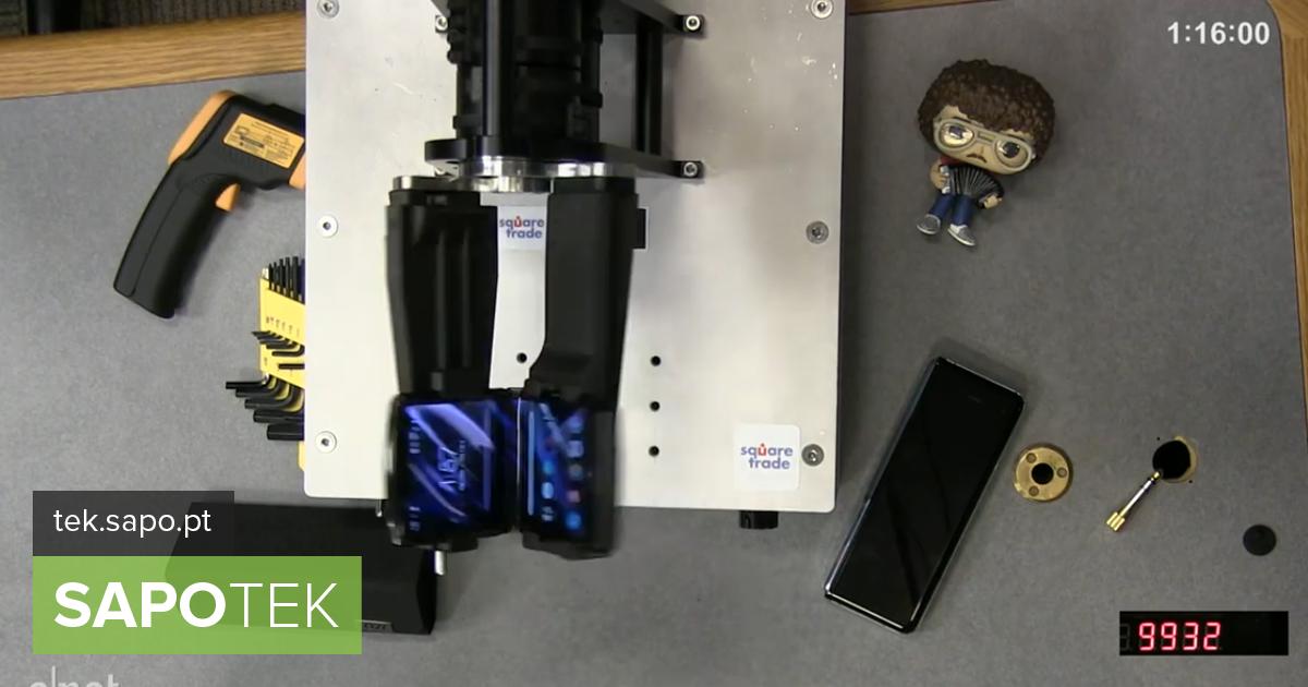 Motorola Razr ei suuda vastu panna sellele, et FoldBot voldiks ja avaks rohkem kui 27 000 korda - Equipamentos
