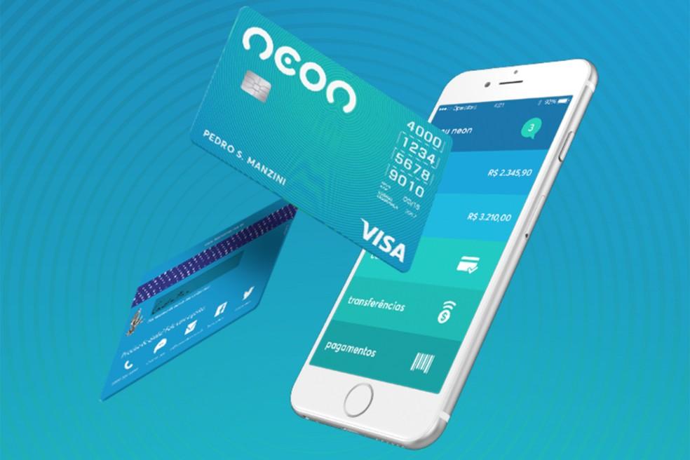 Neon võimaldab teil taotleda Visa krediitkaardifotosid: Divulgao / Neon