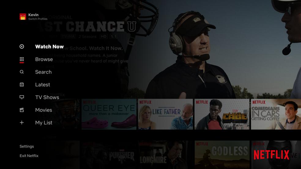 Netflixi test funktsioneerib nagu teleri foto jäljendamine: Divulgao / Netflix