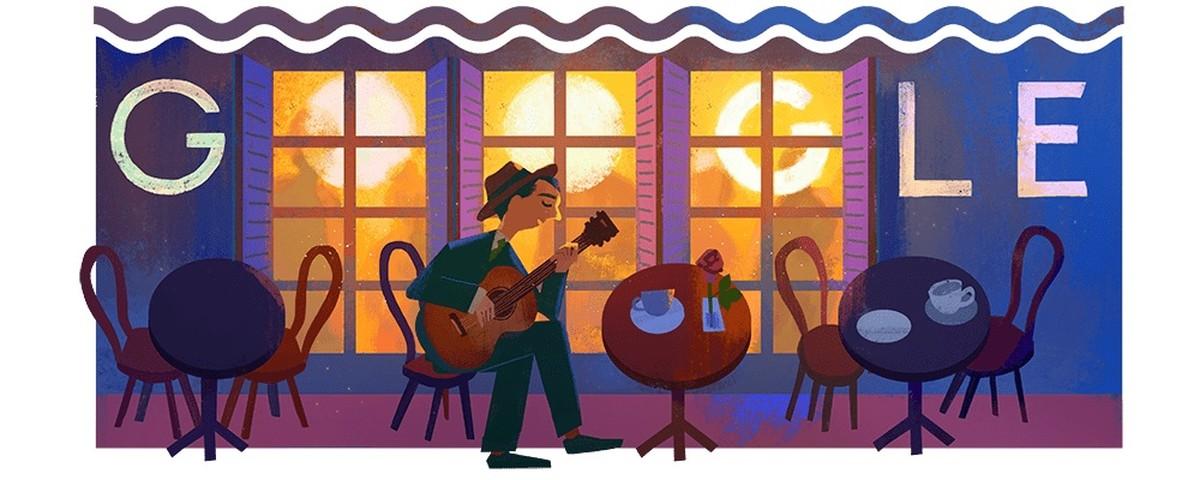 Noel Rosa võitis Google Doodle'i 109. sünnipäeval | Internet