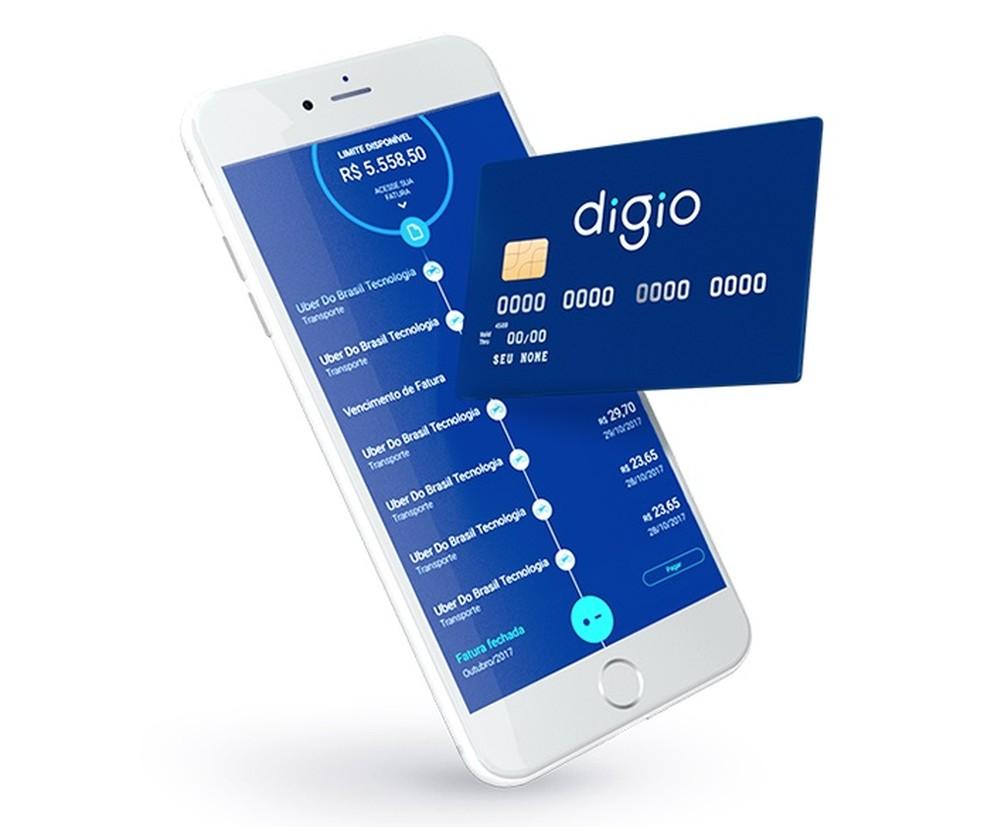 Banco Digio pakub krediitkaarte ilma aastatasudeta Foto: Divulgao / Digio