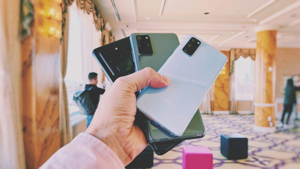 Nutitelefonid Samsung Galaxy S20, S20 + ja S20 Ultra