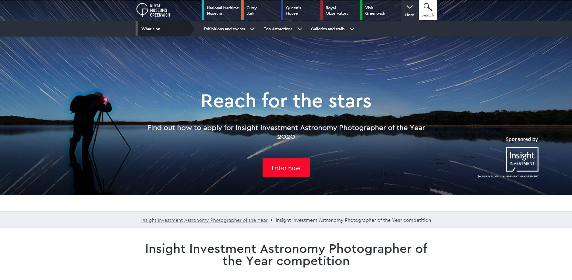 Fotograaf Astronomy Tech saidil aastal 2020
