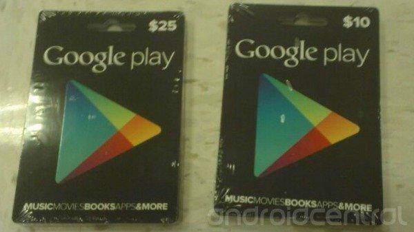 Päris Google Play poe kinkekaart