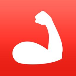 Rakenduse MyTraining ikoon: jõusaali treening