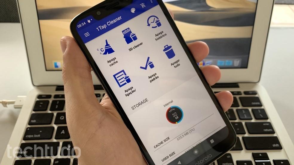 Rakendus telefoni mälu puhastamiseks: kuidas kasutada 1Tap Photo Cleaner: Helito Beggiora / TechTudo