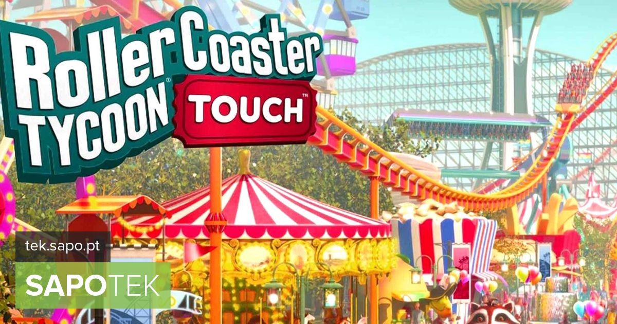 RollerCoaster Tycoon Touch väljakutse on nutitelefoni - Androidi - lõbustuspargi rajamine