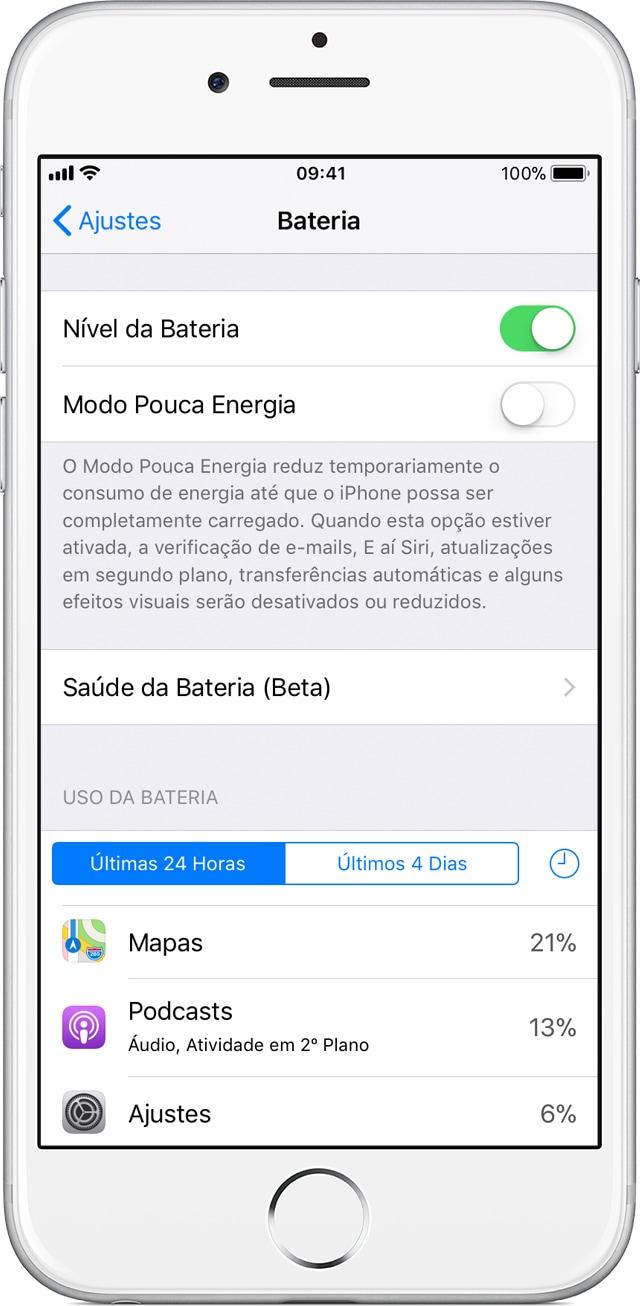Kesehatan Baterai di iOS 11.3