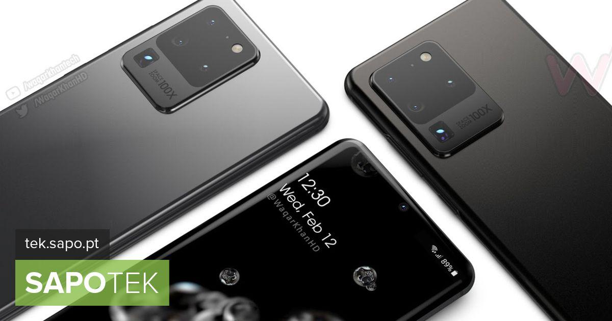 Samsung tutvustas enne uut mudelit Galaxy S20 - Varustus