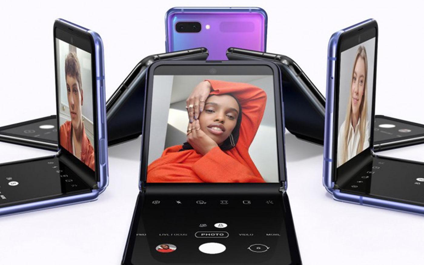 See on Galaxy Z Flip, Samsungi uus nutitelefon, mille saab kokku voltida