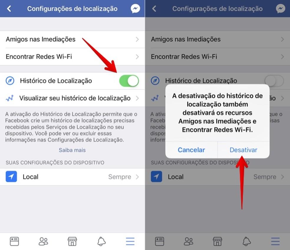 Takistab Facebookil teie asukoha jälgimist Foto: Reproduo / Helito Bijora