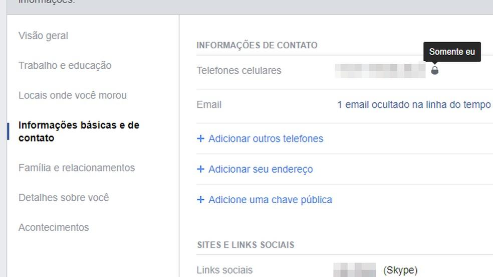 Ära avalda sotsiaalvõrgustikes aadressi ja telefoni. Foto: Reproduo / Paulo Alves