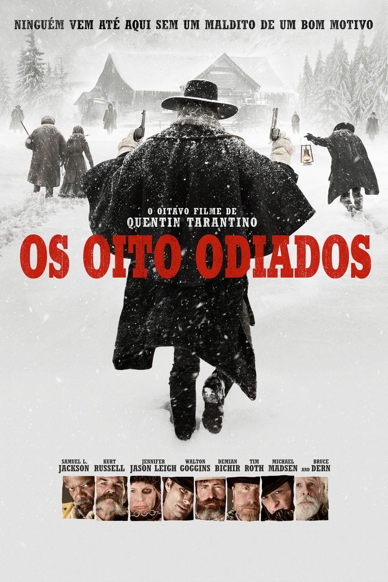 """Selle nädala film: Osta režissööri Quentin Tarantino film """"Kaheksa veidrat"""" 3 dollarit!"""
