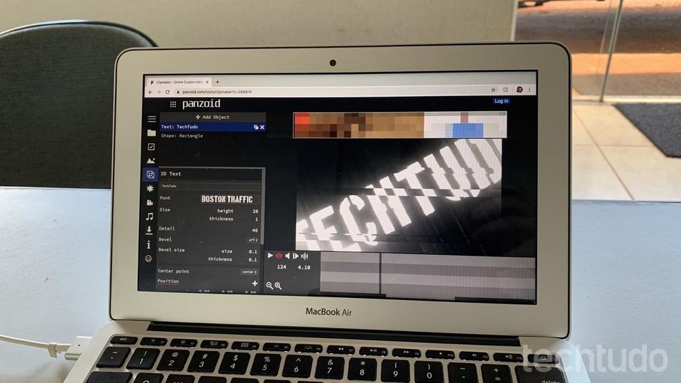 Siit saate teada, kuidas kasutada Panzoidi fotode sissejuhatava video tegemiseks: Helito Beggiora / TechTudo