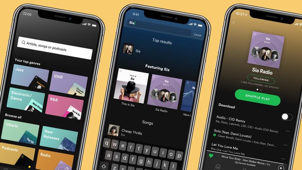 Spotify kuulutas välja uued kujundused ja raadiofunktsioonid, mis on ümber kujundatud Premium Photo: Divulgao / Spotify