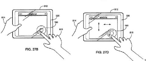 Gambar paten tablet Apple