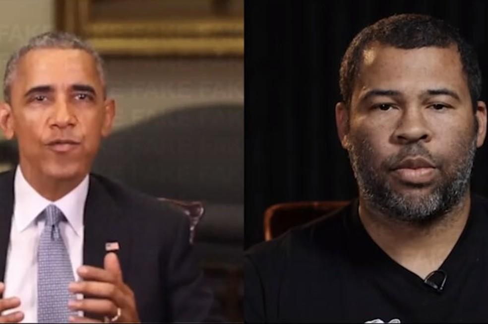 Barack Obama kõnega video näeb välja tõeline, kuid režissöör Jordan Peele sõnad Foto: Reproduction / BuzzFeed