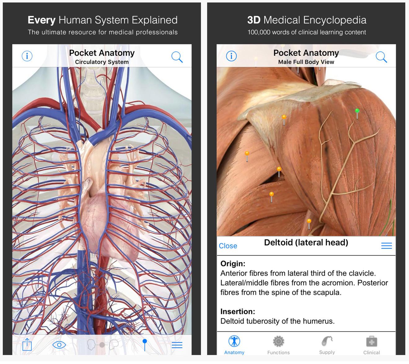 Tänane pakkumine App Store'is: Pocket Anatoomia, FakeTime, Doom & Destiny Advanced ja palju muud!