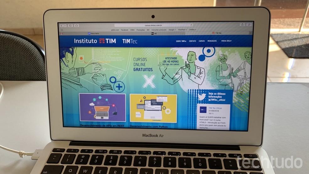 Siit saate teada, kuidas veeta tasuta ja tasuta kursusi TEAM Tec Photosis: Helito Beggiora / TechTudo