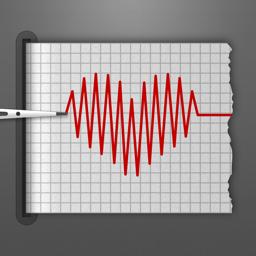 Klassikalise kardiograafi rakenduse ikoon