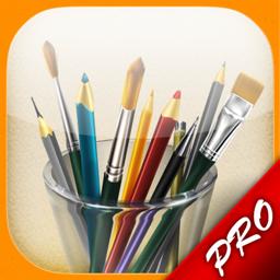 MyBrushes Pro rakenduse ikoon: värvige ja joonistage