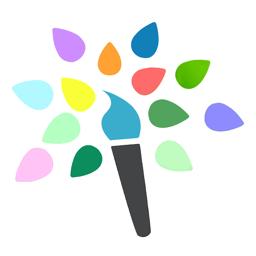 Värvirakenduse ikoon Paint