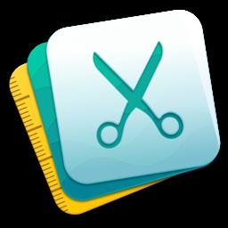 Rakenduse PhotoBulk ikoon: vesimärk pakis