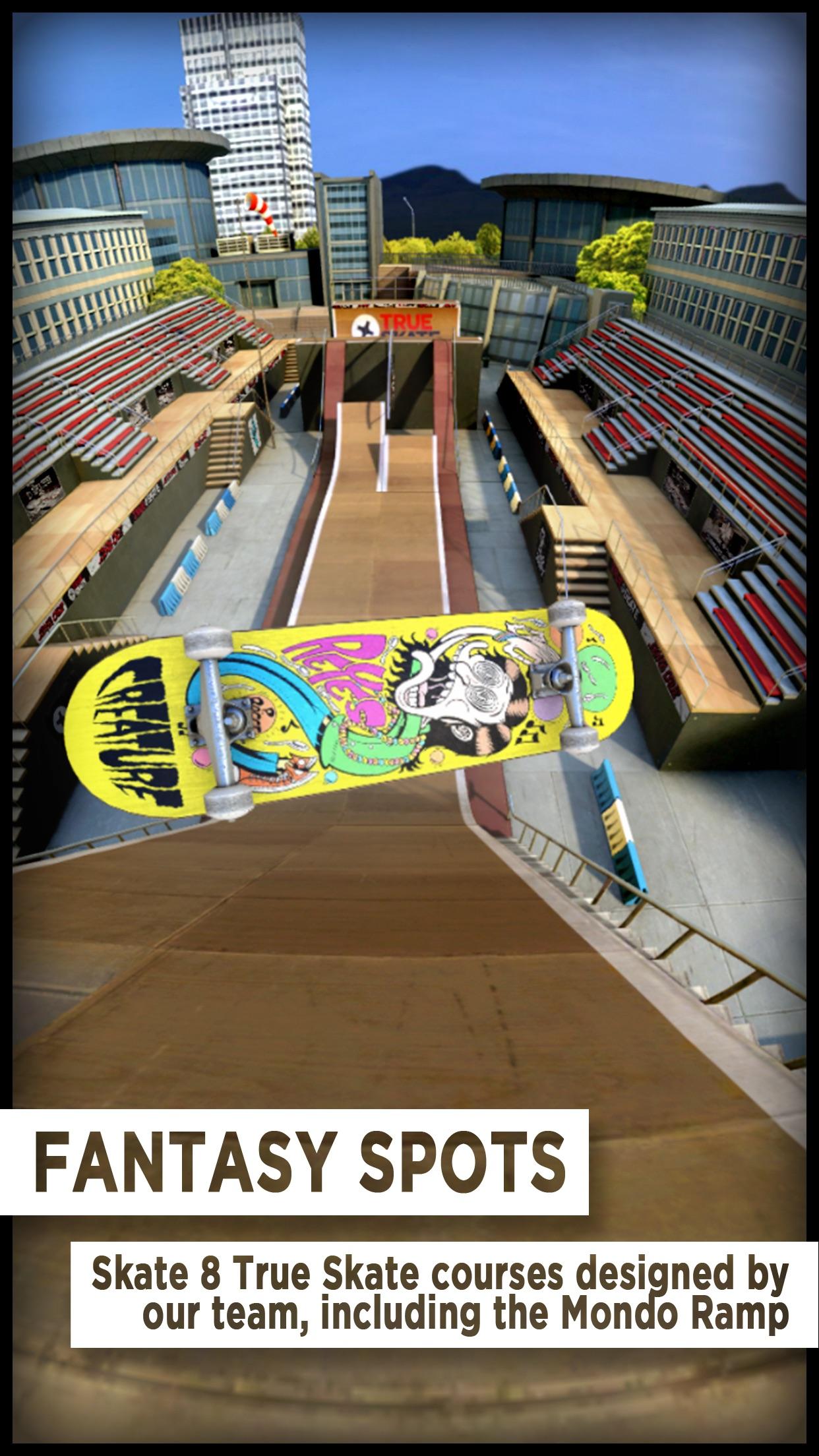 Ekraanipilt rakendusest True Skate