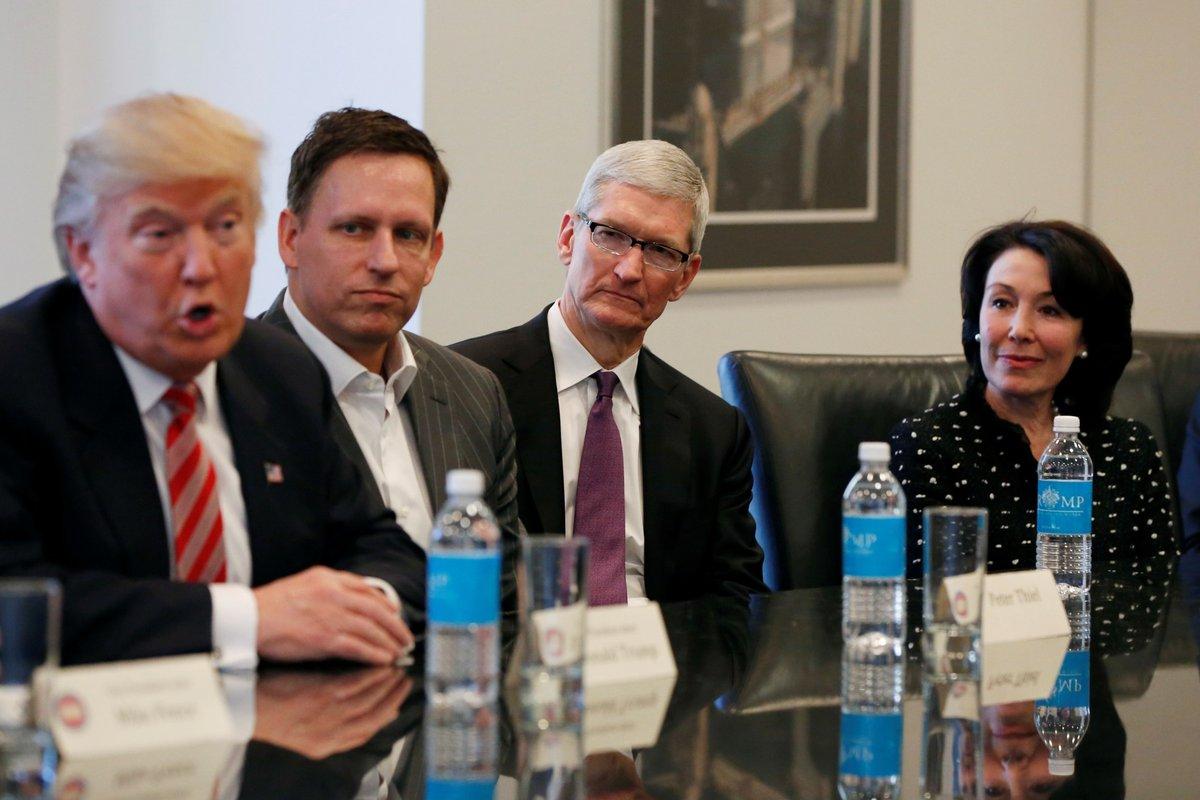 Tim Cook ja teised tehnoloogiajuhid avaldasid rahulolematust pärast seda, kui Donald Trump tagandas USA Pariisi kokkuleppest [atualizado]