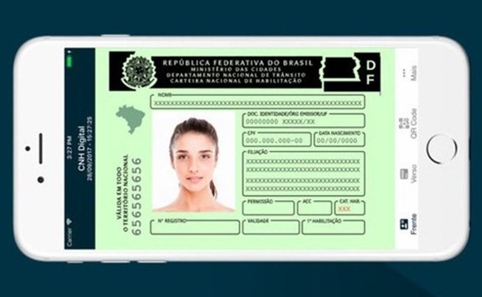 CNH-i digitaalsel versioonil on sama õiguslik jõud kui trükitud dokumendil Foto: Divulgao / Serpro