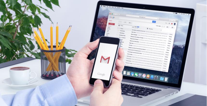 Tumerežiimi taasaktiveerimine Android Gmailis