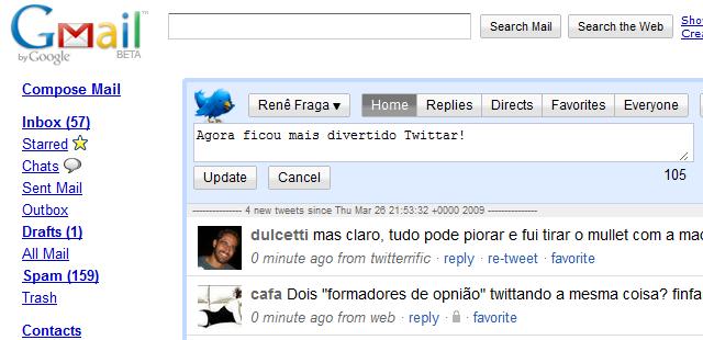 Twitteri vidin Gmaili jaoks Google Discovery