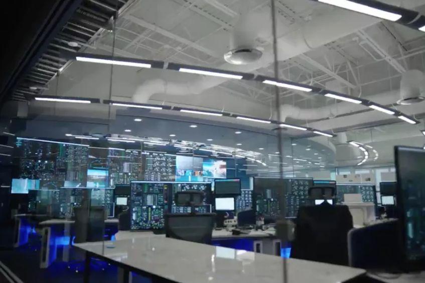 Uus sinise päritolu missiooni juhtimiskeskus
